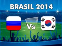 Rusia Vs Corea del Sur