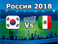 Corea del Sur Vs México