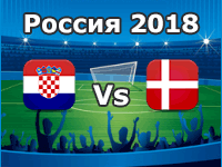 Croacia Vs Dinamarca